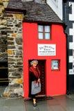 小屋在大英国 库存照片