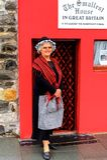 小屋在大英国 免版税库存照片
