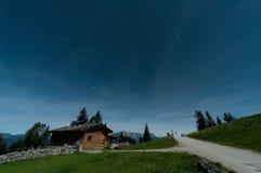 小屋在贝希特斯加登 免版税库存照片