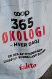 小屋365有机食品在FAKTA杂货店 免版税图库摄影