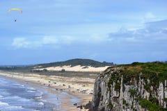 小山中部在托里斯在巴西 库存照片