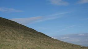 小山在切斯特菲尔德 图库摄影