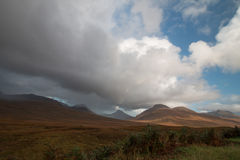 小山在苏格兰 免版税库存图片