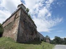 小山城堡, Brasov,罗马尼亚 免版税库存图片