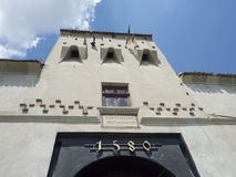 小山城堡, Brasov,罗马尼亚 库存图片