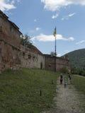 小山城堡, Brasov,罗马尼亚 库存照片