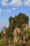 小山山顶在连队mansan山的 免版税库存图片