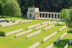 小山新的英国公墓世界大战1 库存照片