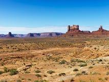 小山沙漠横向 库存照片