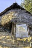 小山生活传统部落 免版税图库摄影