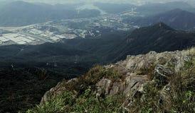 小山的多个范围 库存照片