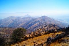 小山的范围 库存图片