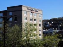 小山marriott匹兹堡春天套件 免版税库存图片