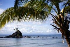 小岛在马达加斯加 库存图片