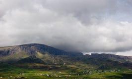 小岛横向农村skye 免版税图库摄影