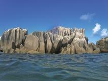 小岛皮埃尔圣徒塞舌尔群岛 免版税库存照片