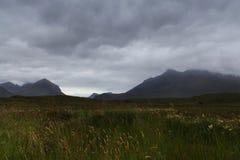 小岛苏格兰skye 库存图片