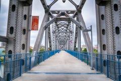 小岩城连接点桥梁 免版税库存照片