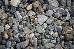 小岩石纹理背景 免版税库存图片
