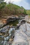 小峡谷 库存照片