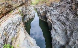 小峡谷 免版税库存照片