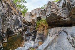 小峡谷 库存图片