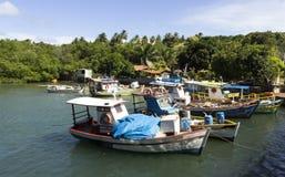小工艺渔船- RN,巴西 免版税库存图片