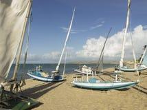 小工艺渔船- RN,巴西 免版税图库摄影