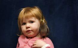 小形鹦鹉女孩宠物 图库摄影