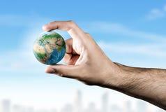 小心对我们的行星 免版税图库摄影