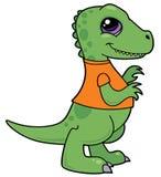 小恐龙rex暴龙 库存例证