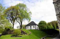 小拘留所,挪威 免版税图库摄影