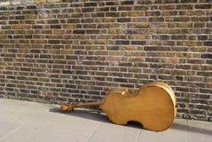 小提琴在伦敦 免版税库存照片