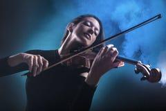 小提琴手 免版税库存图片