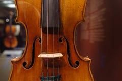 小提琴,安东尼奥Stradivary,克雷莫纳,意大利, 1671 免版税库存图片