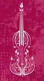 小提琴 库存例证