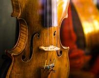 小提琴在威尼斯 免版税库存照片