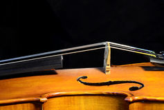 小提琴桥梁 免版税库存图片