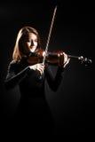 小提琴球员古典音乐家小提琴手 免版税库存图片