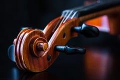 小提琴纸卷 免版税库存照片
