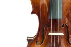 小提琴身体  免版税库存图片