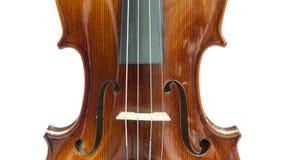 小提琴身体  库存照片