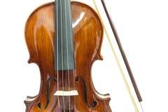 小提琴身体  免版税图库摄影