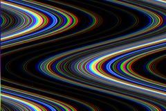 小故障荧光的背景 老电视屏幕错误 数字式映象点噪声摘要设计 照片小故障 电视信号 免版税库存图片