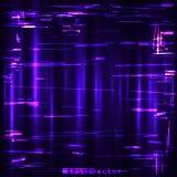 小故障蓝色紫色桃红色设计模板 库存例证