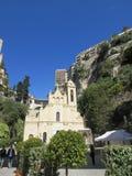 小教会在摩纳哥 免版税图库摄影