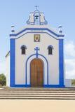 小教会在阿亚蒙特,韦尔瓦省 西班牙 库存图片