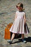 小时装模特女孩 免版税库存照片