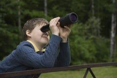 小望远镜 免版税图库摄影