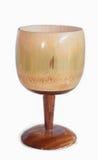 小木酒杯 库存照片